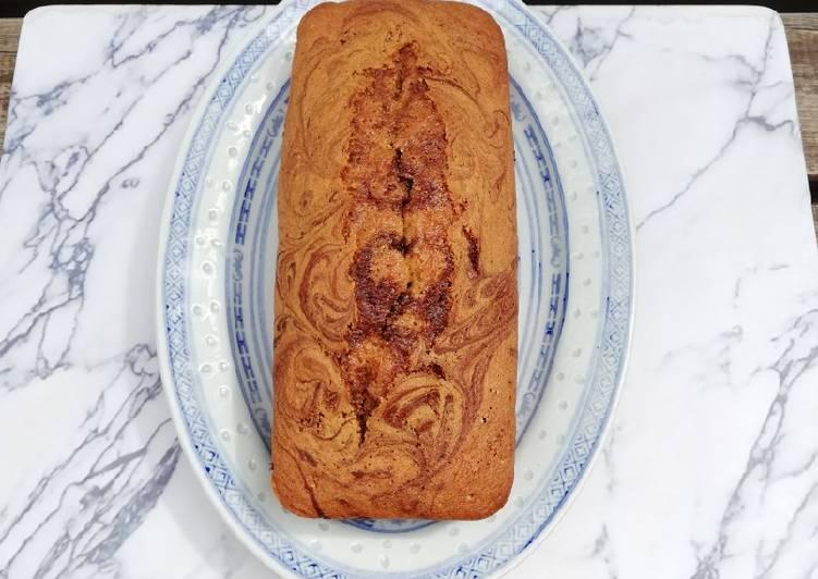 Recette: Gâteau marbré