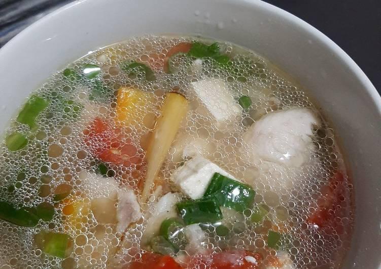 Sup kakap fillet (14m)