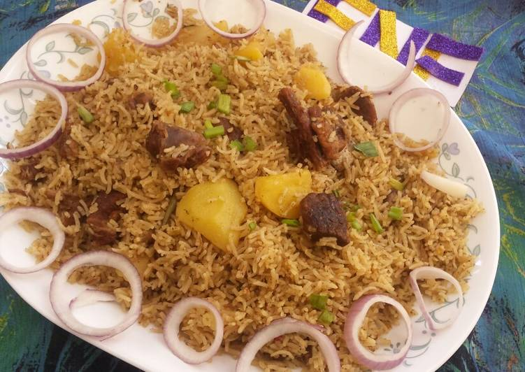 Simple Way to Make Award-winning Mutton pulao