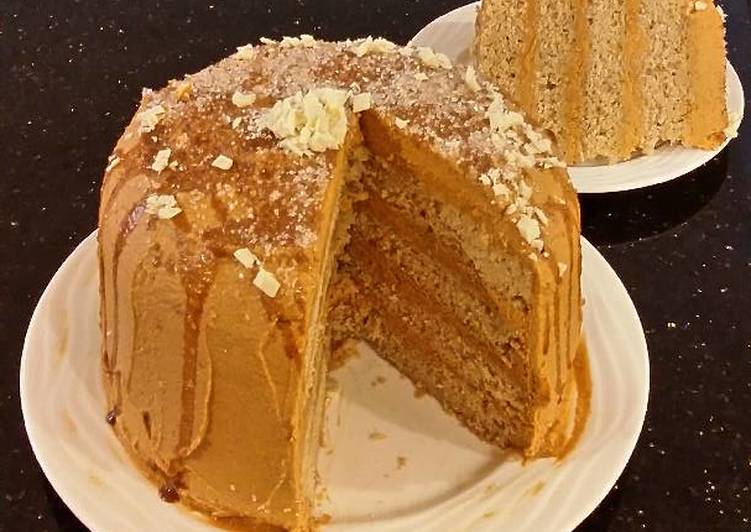 Recipe: Yummy Cinnamon Layer Cake with Whipped Cinnamon Cream Filling and Frosting