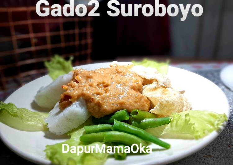 Resep Gado2 Suroboyo Oleh Oka Fridayah Cookpad