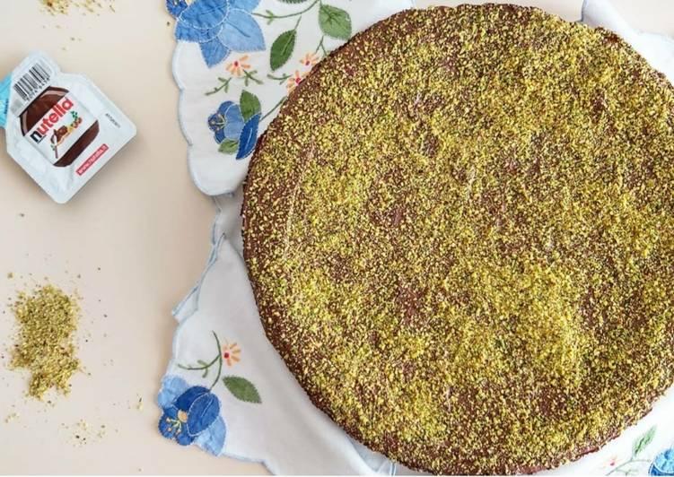 Ricetta Torta pistacchio e Nutella