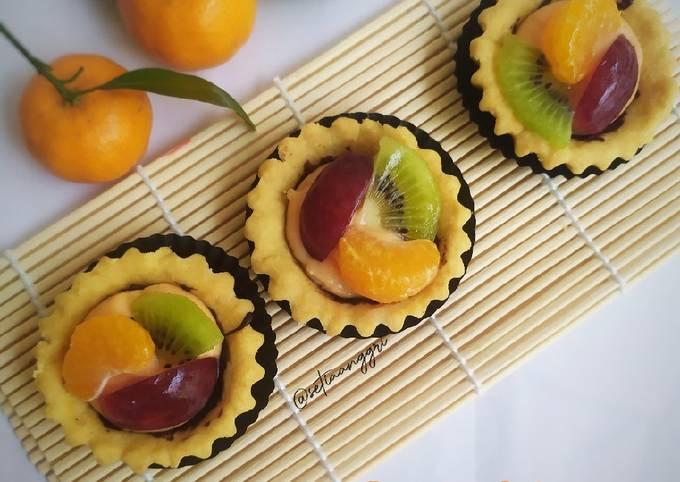Fruit Tartlet / Pie Buah vla Strawberry