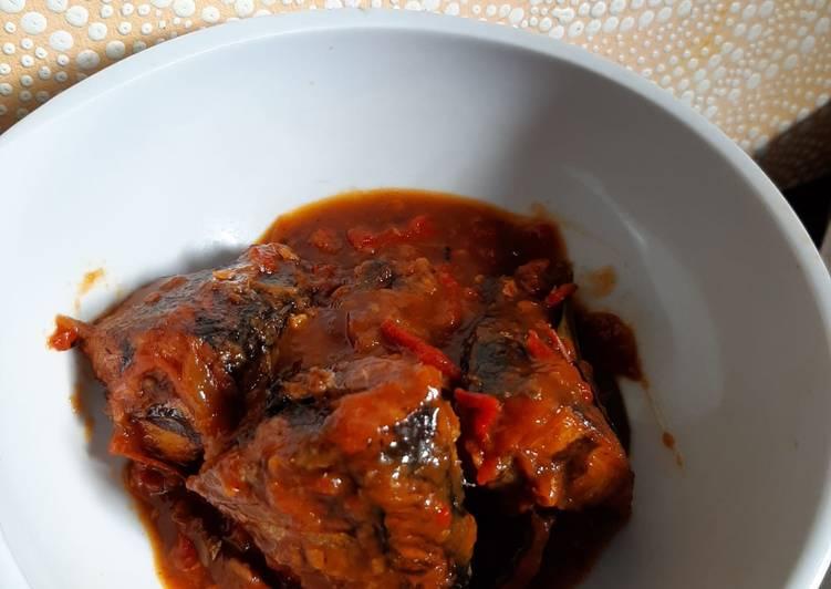 Sarden Balado (homemade)
