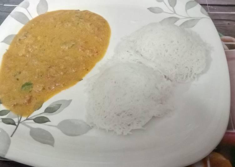 10 Minute Easiest Way to Prepare Autumn Tomato kurma for Idiyappam
