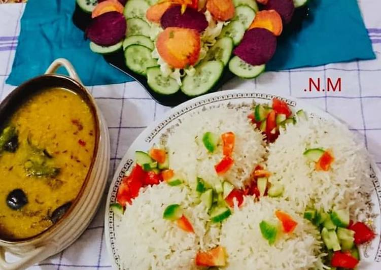 Recipe: Appetizing Sultani_Smoky_& Creamy_Dal Additional_of_Saffron and Betel_Leaf