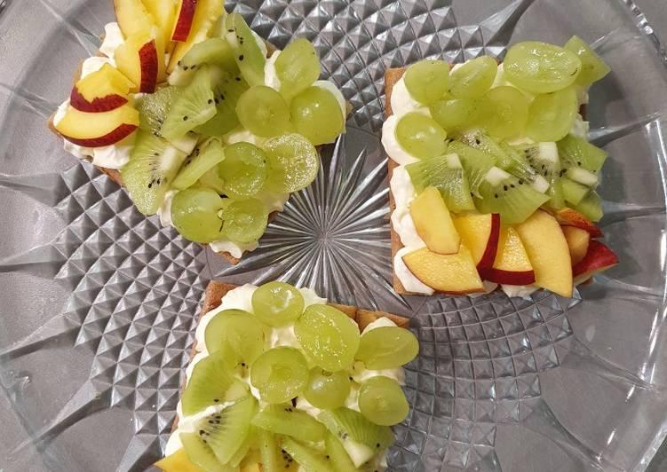 Délicieux Tartelette aux fruits