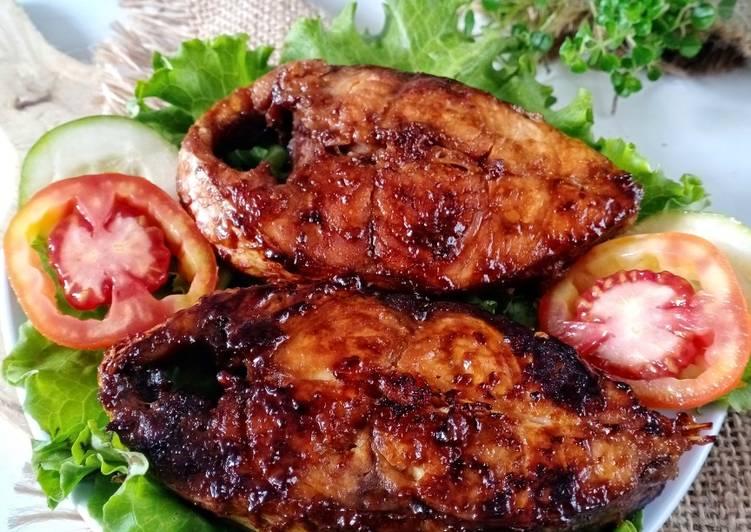 Grilled kakap
