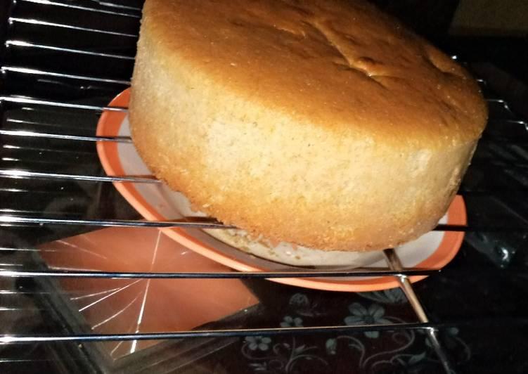 Oil based vanilla cake recipe