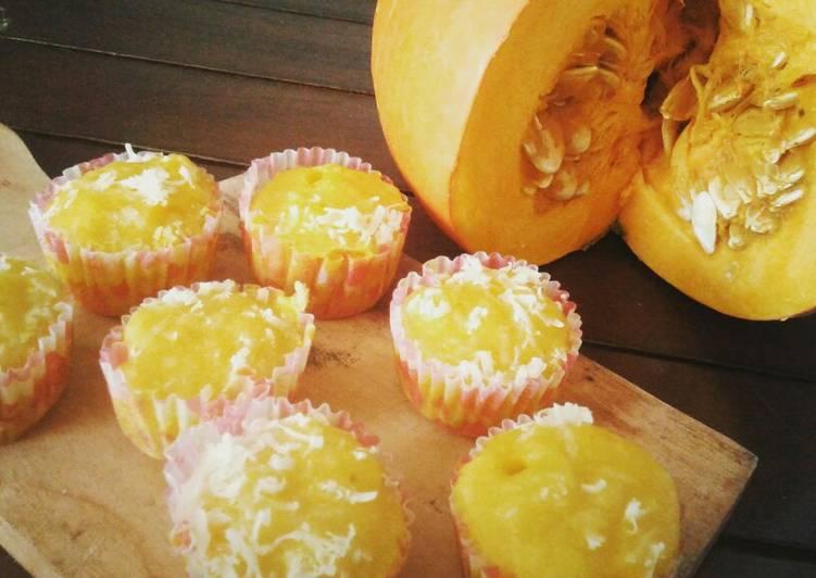 Muffin Kabocha Sehat (no bp) | bekal anak | MPASI