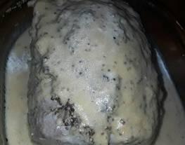Lomo de cerdo con mostaza a la antigua