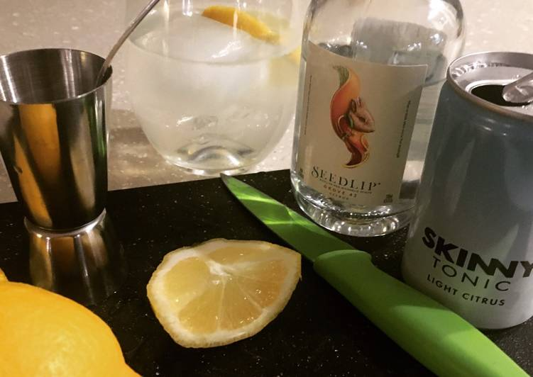 How to Prepare Perfect No Gin G&T