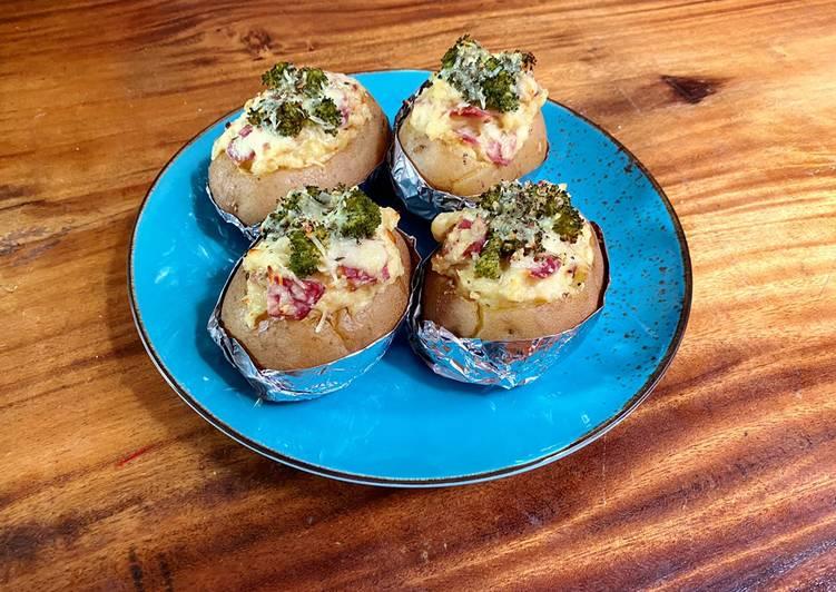 Baked Potato Broccoli Cheese