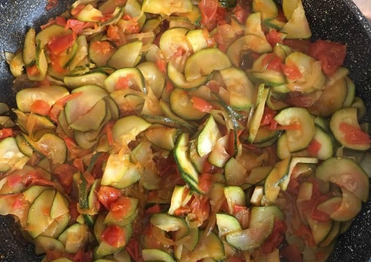 Ricetta Zucchine in umido
