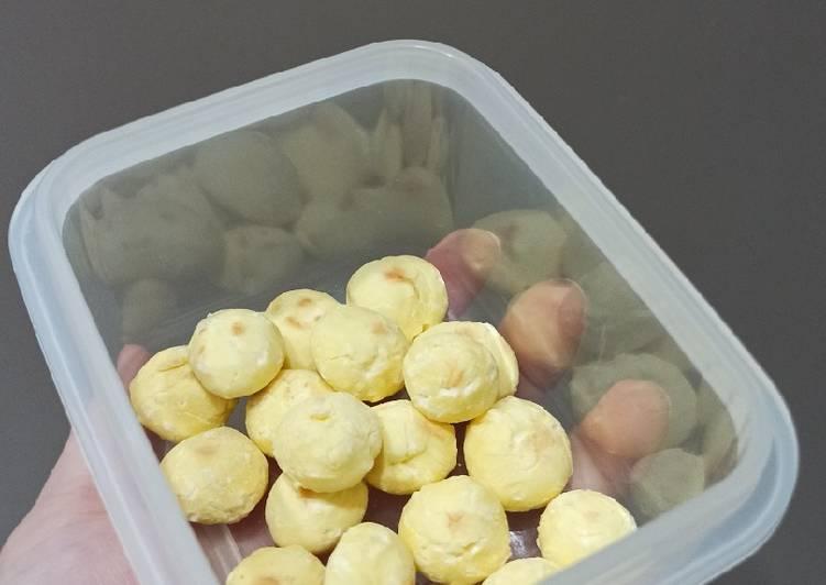 Egg Biscuits/Tamago Boro, Snack Mpasi 10+