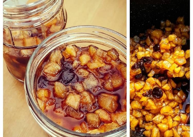 Apple Pie Raisins Preserve Jam – Food 52 Cookbooks