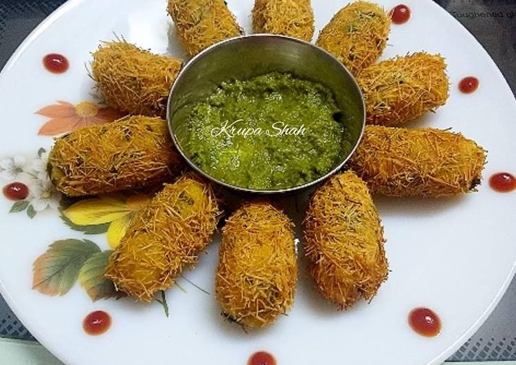 Easy Comfort Dinner Easy Refreshing Sev rolls