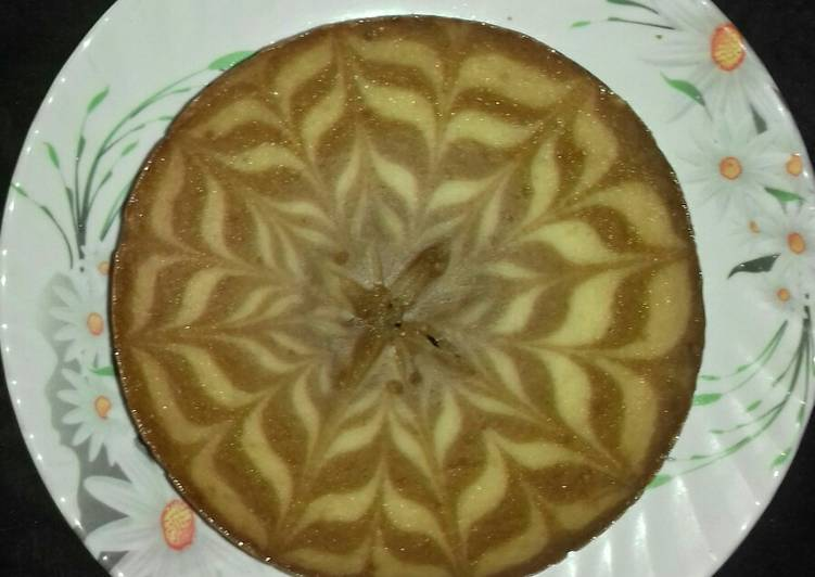 Coffee Marble cake
