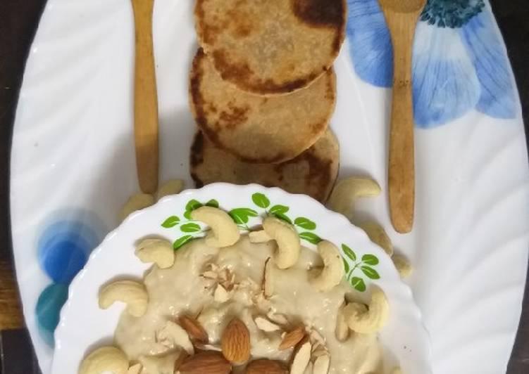 Rabdi with Biscuit Roti