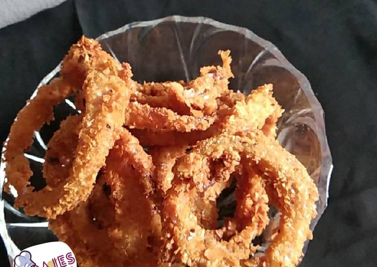 Easiest Recipe: Tasty Crunchy onion rings