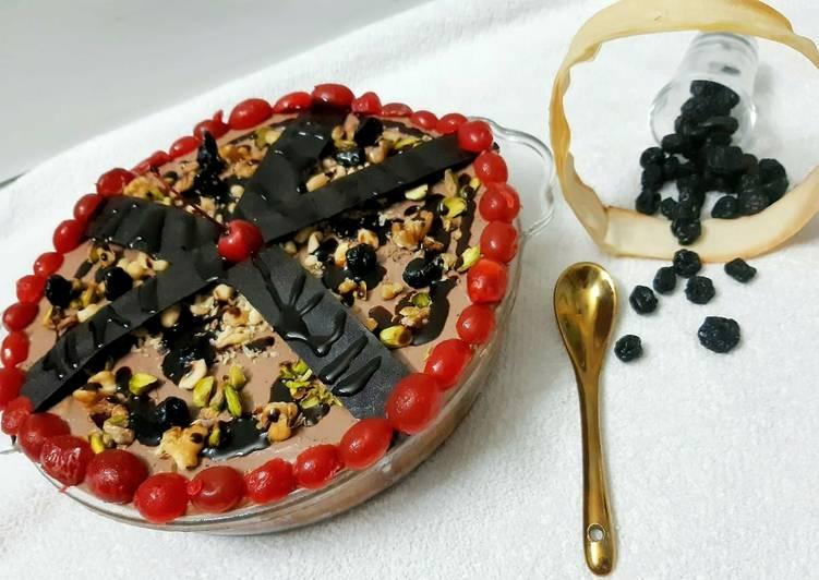 Easiest Way to Produce Toothsome Banana chocolate cheese cake