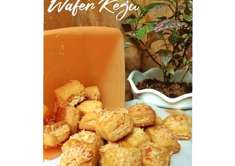 Nastar Wafer Keju - cookandrecipe.com