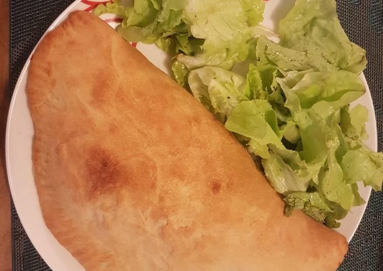 Comment Préparer Des Calzone végétarienne 🇮🇹