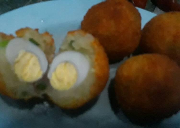 Resep Perkedel kentang isi telur Yang Gampang Sedap