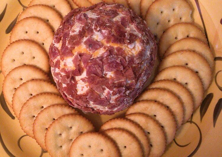 Steps to Prepare Any-night-of-the-week Bacon ranch cheese ball