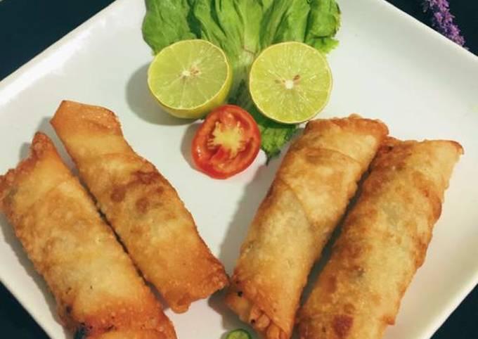 Chicken mince rolls