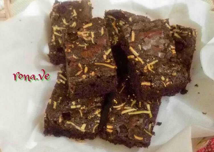 Brownies panggang nyoklat