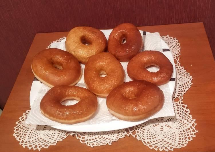Donuts de avena y yogur, saludables