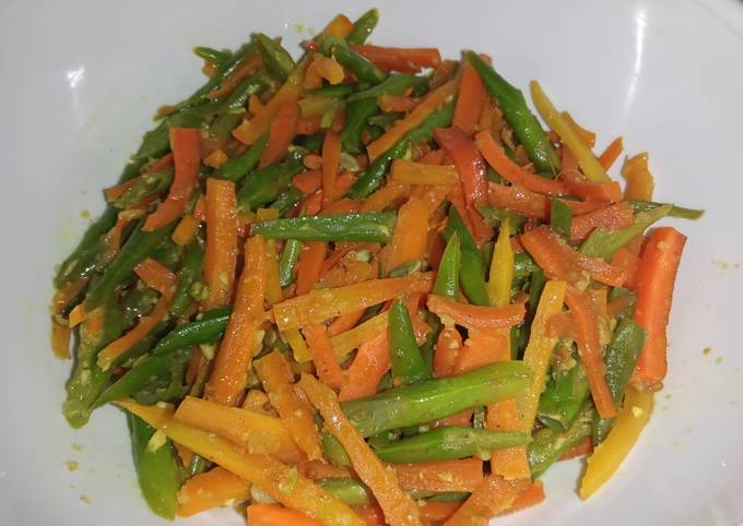 Acar kuning wortel buncis