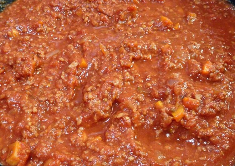 Sauce bolognaise (vegan)