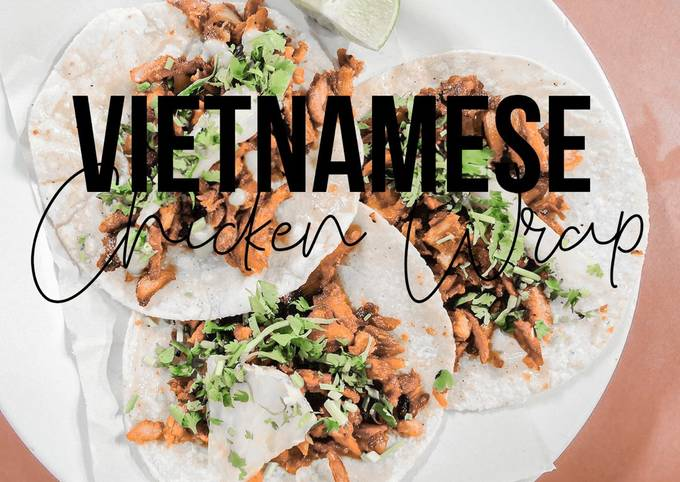 Fitness Recipe: Vietnamese Cuisine and Chicken Wrap [ONLY 20 MINUTES]