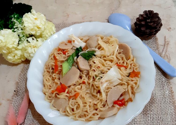Indomie Goreng Kuah