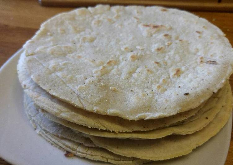 Step-by-Step Guide to Prepare Quick Quick and Easy Corn Tortillas