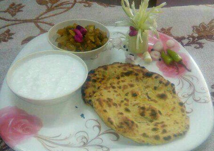 Easiest Way to Make Homemade Tandoori missi roti
