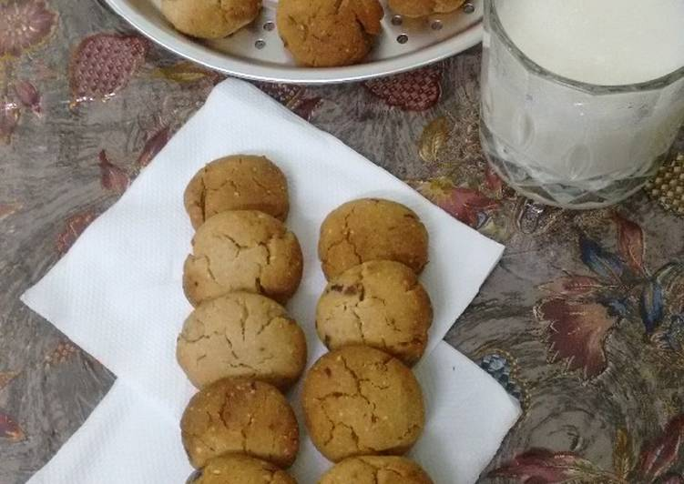 Dates And Walnuts Cookies