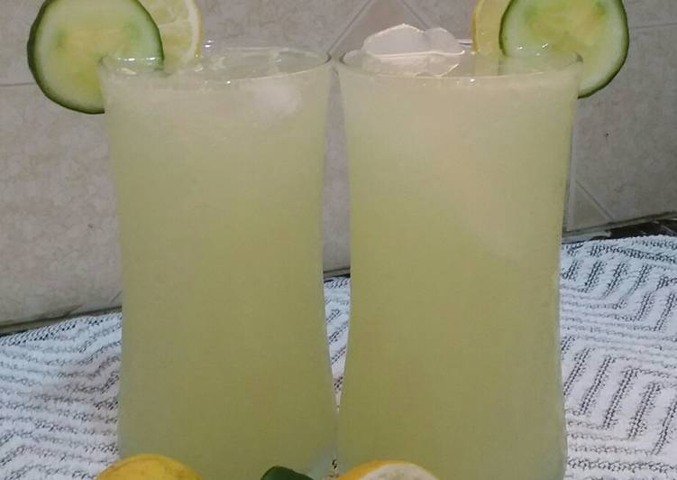 Recipe of Favorite Cucumber Drink