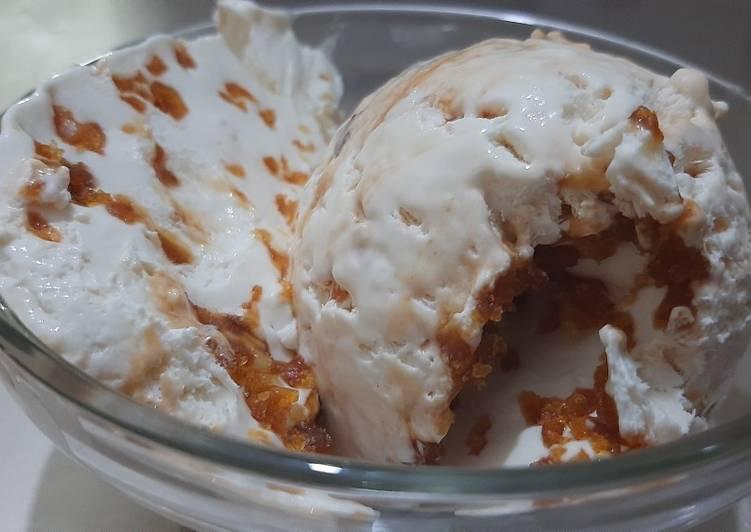 Praline crunch ice cream recipe❤❤🥰(Iftar Special)