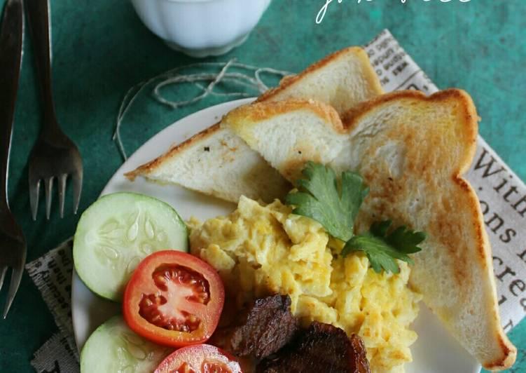 Resep American Breakfast Paling Gampang