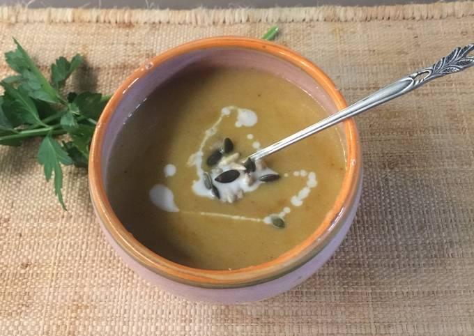 Velouté 3 C (carotte/chou-fleur /cumin)