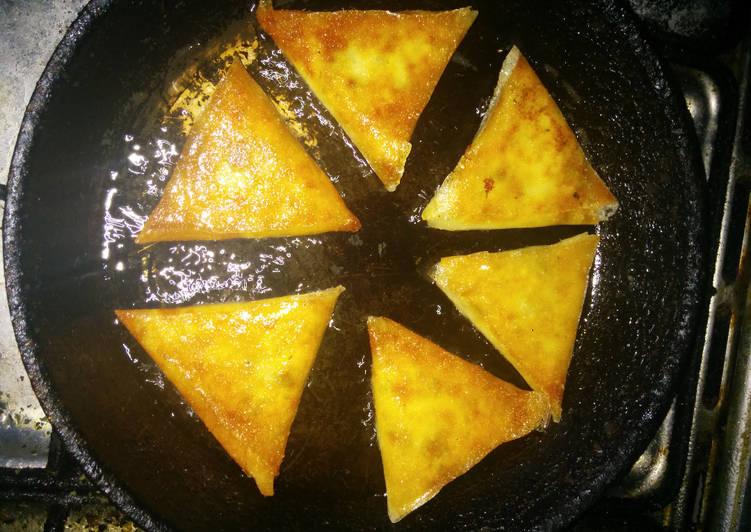 La Meilleur Recette De Brick aux fromages & œufs