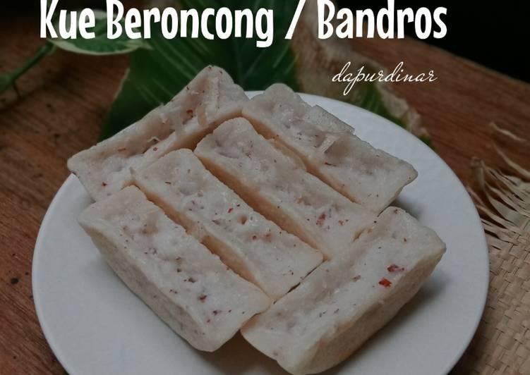 Kue Beroncong atau Pancong atau Bandros
