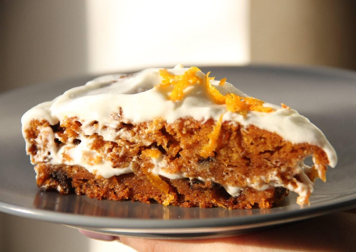 морковный торт классический рецепт с фото пошагово прошлом