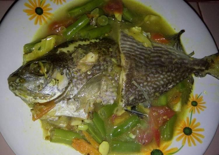 Ikan Baronang Masak Simple