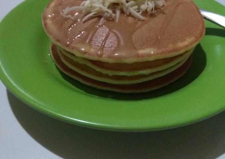 Pancake simple tanpa baking powder