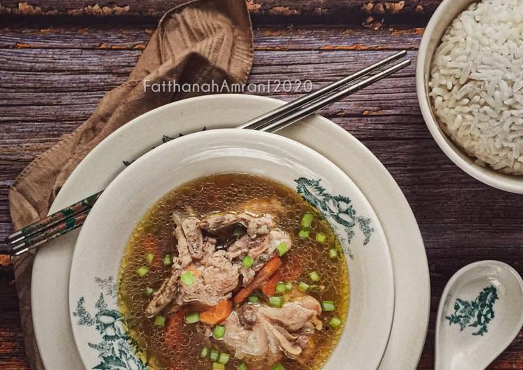 Sup Ayam Lobak Merah - velavinkabakery.com
