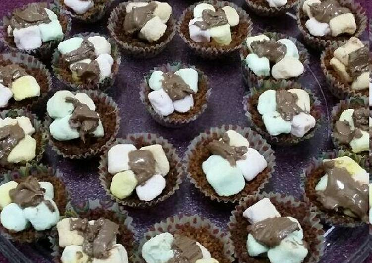 S'mores Mini Cuppies